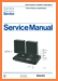 Philips AF-390 Turntable Record Player Main Technical Manual - PDF & Tech Help* | English