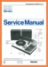 Philips AF-471 Turntable Record Player Main Technical Manual - PDF & Tech Help* | English