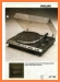 Philips AF-729 Turntable Record Player Main Brochure - PDF & Tech Help* | English
