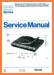 Philips AF-729 Turntable Record Player Main Technical Manual - PDF & Tech Help* | English
