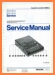 Philips D-6260 Tape Player Main Technical Manual - PDF & Tech Help* | English