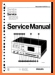 Philips N-2533 Tape Player Main Technical Manual - PDF & Tech Help* | English