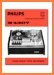 Philips N-4307 Tape Player Main User Book - PDF & Tech Help* | English