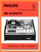 Philips N-4307 Tape Player Addendum - A User Book - PDF & Tech Help* | English