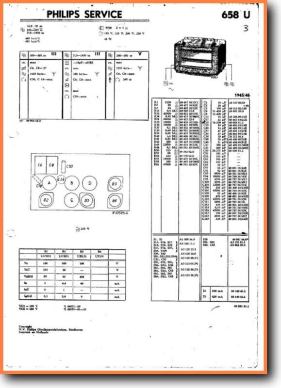 Philips 658 U Legacy Radio On Demand Pdf Download Dutch