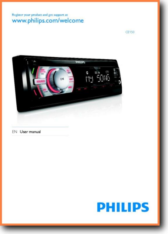 Philips CE-150 Automotive Audio - On Demand PDF Download ...