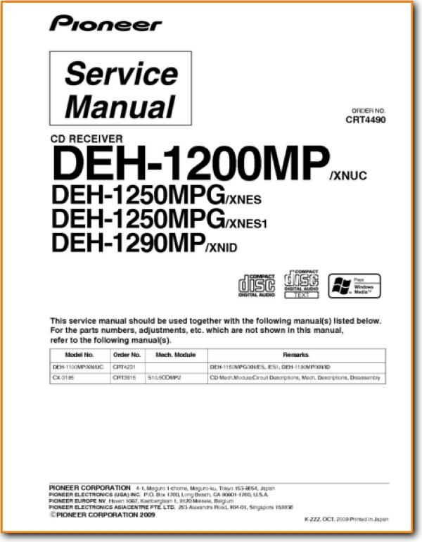 Pioneer Deh 1200Mp Wiring Diagram from www.turntableneedles.com