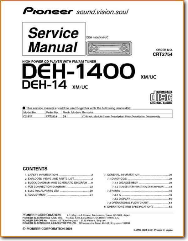 pioneer deh p6300 wiring diagram deh 1400 wiring diagram auto wiring diagrams  deh 1400 wiring diagram auto wiring