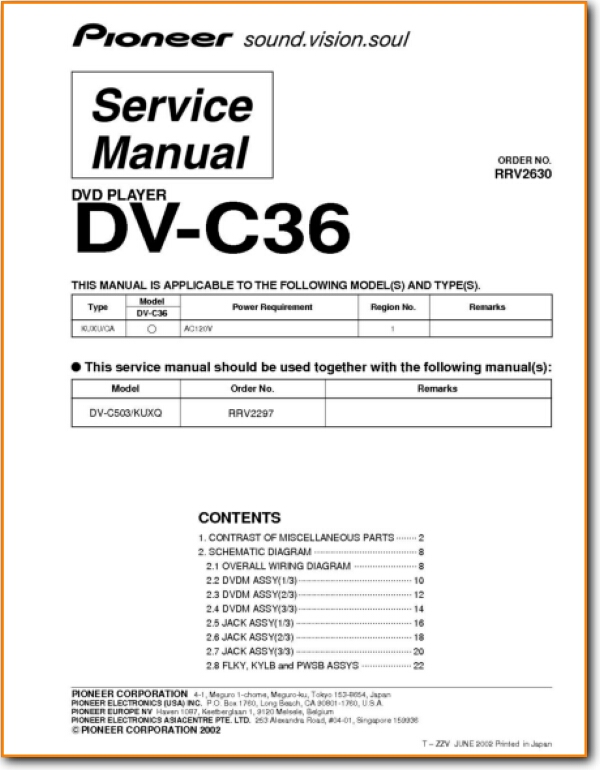 Pioneer DVC-36 DVD Player - On Demand PDF Download | English on dvd player parts diagram, dvd player cover, dvd player radio, dvd player plug, dvd player circuit, dvd player cabinet, dvd player connectors, dvd player instruction manual, dvd player controls, dvd player block diagram, dvd player repair, dvd player battery, dvd player disc error, dvd player fuse, dvd player power supply, dvd player motor, dvd player dimensions, dvd player cable, dvd player serial number, dvd player transformer,