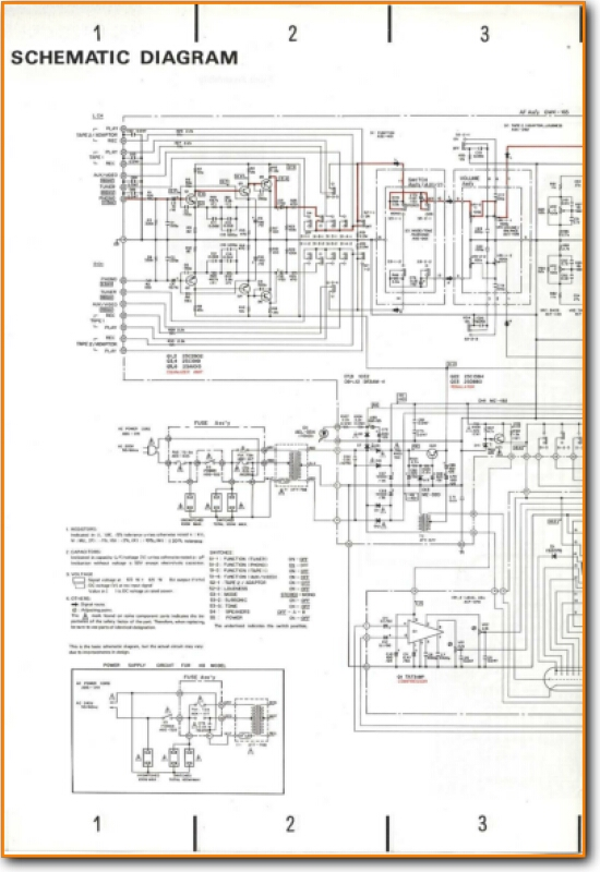 Pioneer SA-720 Solid State Amp Receiver - On Demand PDF Download | on