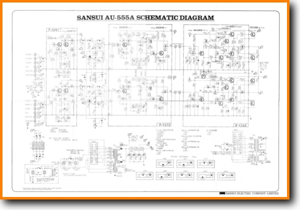 Sansui AU-555-A Solid State Amp Receiver - On Demand PDF Download | on