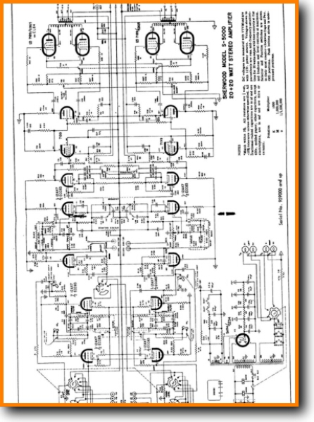 Sherwood S-5000 Tube Amplifier - On Demand PDF Download | English on