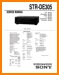 Sony STRDE-305 Amp Receiver Main Technical Manual - PDF & Tech Help* | English