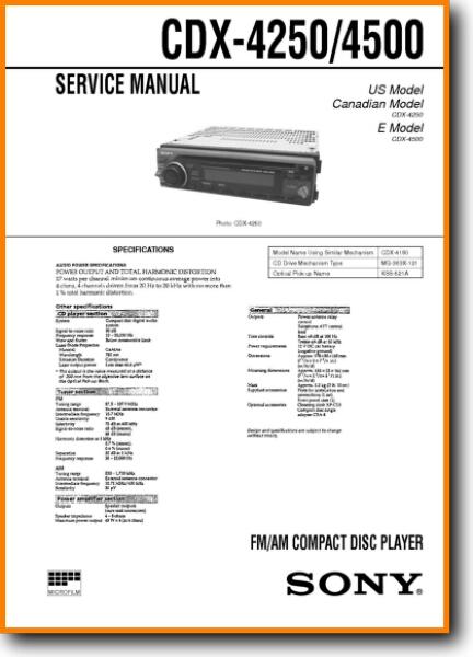 sony cdx 4250 automotive audio on demand pdf download english CDX-GT250MP Wiring-Diagram