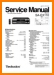 Technics SAEX-110 Amp Receiver Main Technical Manual - PDF & Tech Help* | English