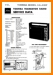 Toshiba 14-L-828-F Portable Stereo Main Technical Manual - PDF & Tech Help* | English