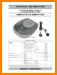 Toshiba CDP-4170 CD Player Main Technical Manual - PDF & Tech Help* | Portugese