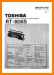 Toshiba RT-8065 Portable Stereo Main Technical Manual - PDF & Tech Help* | English