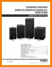 Yamaha DSR-115 Loudspeaker Main Technical Manual - PDF & Tech Help* | English