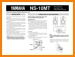 Yamaha NS-10-MT Loudspeaker Main User Book - PDF & Tech Help* | English