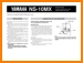 Yamaha NS-10-MX Loudspeaker Main User Book - PDF & Tech Help* | English