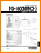 Yamaha NS-1000-MM(CH) Loudspeaker Main Technical Manual - PDF & Tech Help* | English