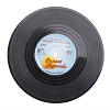 Vinyl Record Style Coffee Cup Coaster set of 6 - Novelty