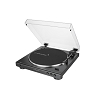 audio-technica AT-LP60X-BK Automatic Belt-Drive Black Turntable | Analog