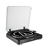 audio-technica AT-LP60BK Automatic Belt-Drive Black Turntable | Analog