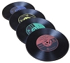 Vinyl Record Drink Cup Coaster - Novelty