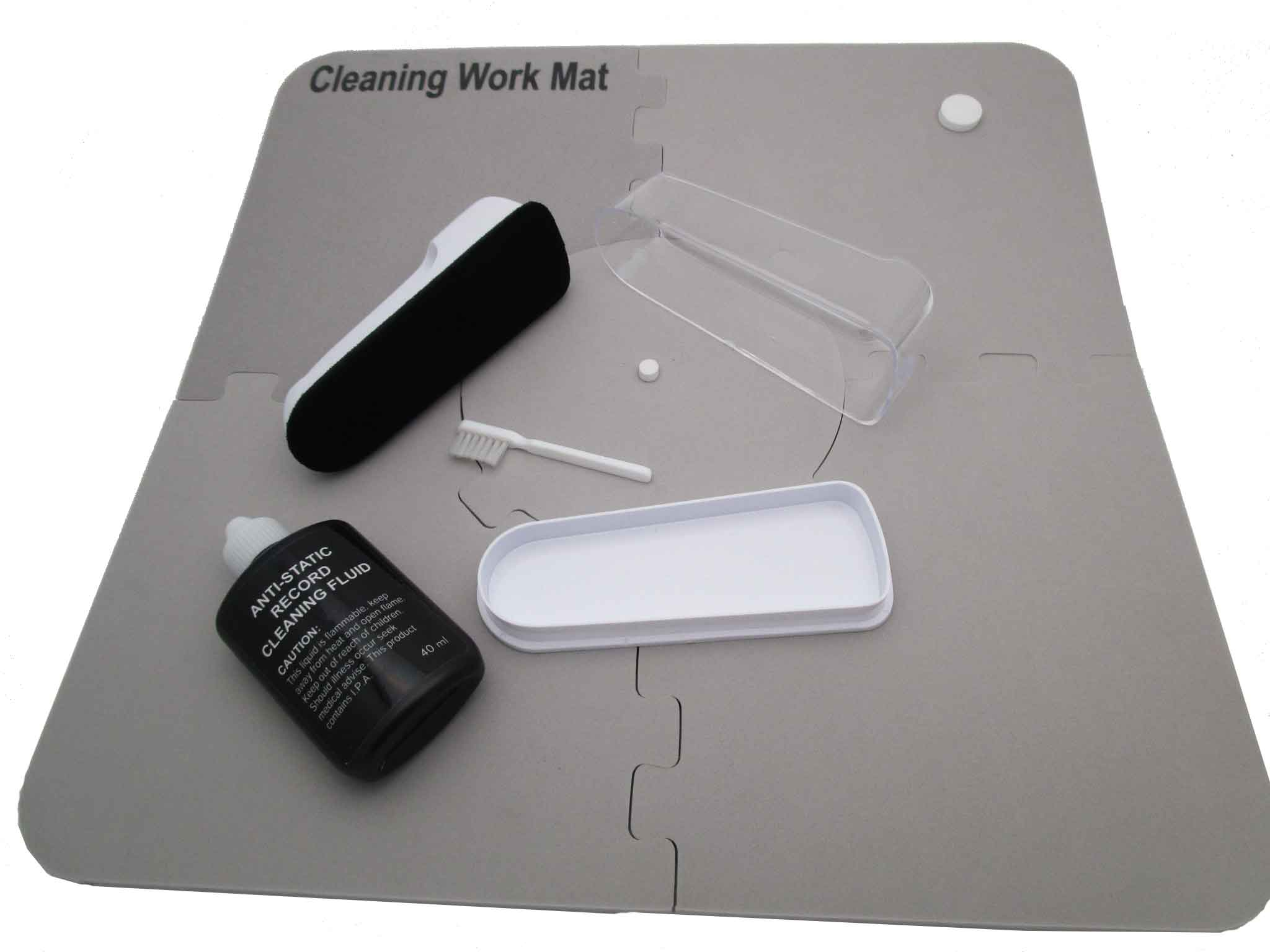 Vinyl Record Cleaning Work Mat