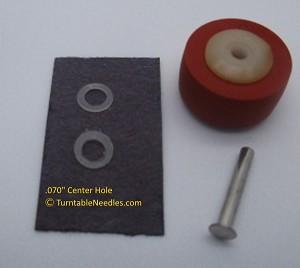 Cassette Deck Pinch Player Mechanism Rubber Drive Roller