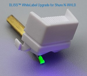 BLISS™ N-WHLB Tech-Approved Sub Stylus for Shure Whitelabel DJ Cartridge | Turntable Needles