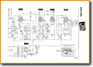Telefunken 065-KW Legacy Radio Main Schematics - PDF & Tech Help* | English