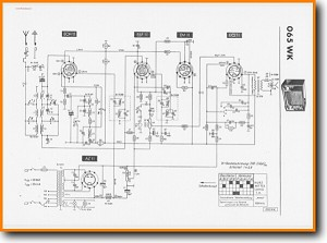 Telefunken 065-WK Legacy Radio Main Schematics - PDF & Tech Help* | English