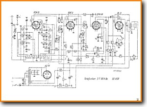 Telefunken 3-T-65-V Legacy Radio Main Schematics - PDF & Tech Help* | English