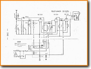 Telefunken 33-G Legacy Radio Main Schematics - PDF & Tech Help* | German