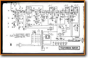 Telefunken 568 Legacy Radio Main Schematics - PDF & Tech Help* | English