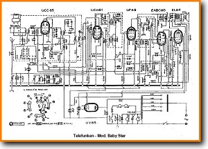 Telefunken Baby-Star Legacy Radio Main Schematics - PDF & Tech Help* | English