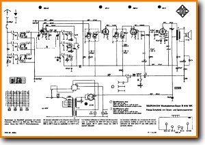 Telefunken D-656-WK Legacy Radio Main Schematics - PDF & Tech Help* | German
