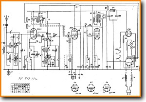 Telefunken T-442-U Legacy Radio Main Schematics - PDF & Tech Help* | English