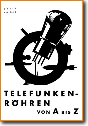 Telefunken TUBES-3 Tube Amplifier Main Catalog - PDF & Tech Help* | German