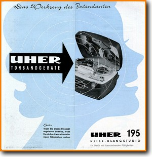 Uher 195 Tape Player Addendum - A Brochure - PDF & Tech Help* | German