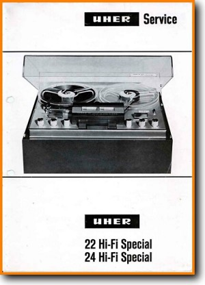 Uher 24 Hi-Fi Special Tape Player Main Schematics - PDF & Tech Help* | English