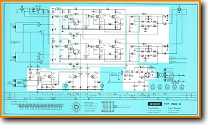 Uher 7000-D Tape Player Main Schematics - PDF & Tech Help* | English