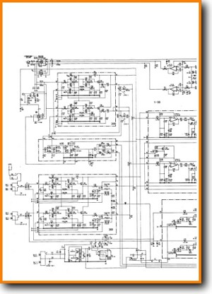 Uher CR-260-AV Amp Receiver Main Schematics - PDF & Tech Help* | English