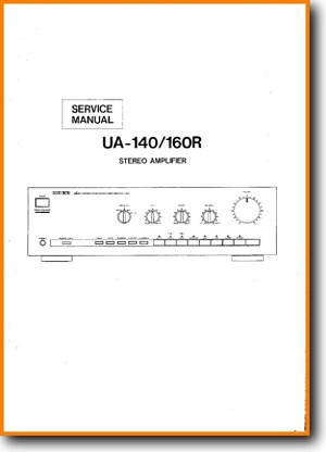 Uher UA-160-R Amp Receiver Main Technical Manual - PDF & Tech Help* | English