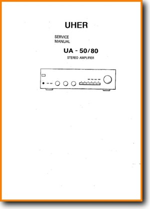 Uher UA-80 Amp Receiver Main Technical Manual - PDF & Tech Help* | English