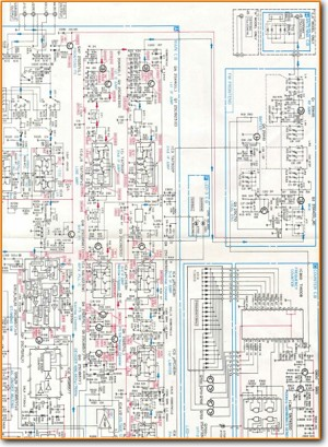 Aiwa AT-9700 Tuner Main Schematics - PDF & Tech Help* | English