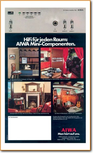 Aiwa Catalog Amp Receiver Main Brochure - PDF & Tech Help* | German